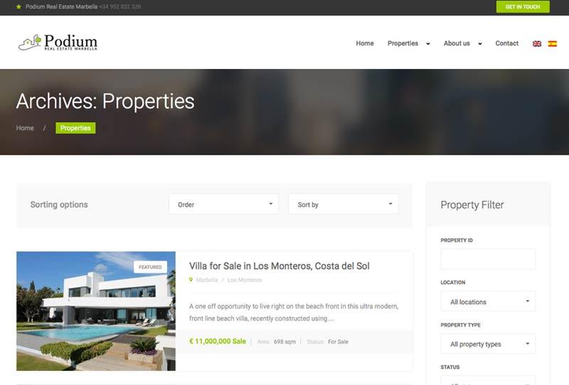 property rental website marbella, real estate marbella
