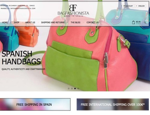 Bagfashionista – eCommerce Design