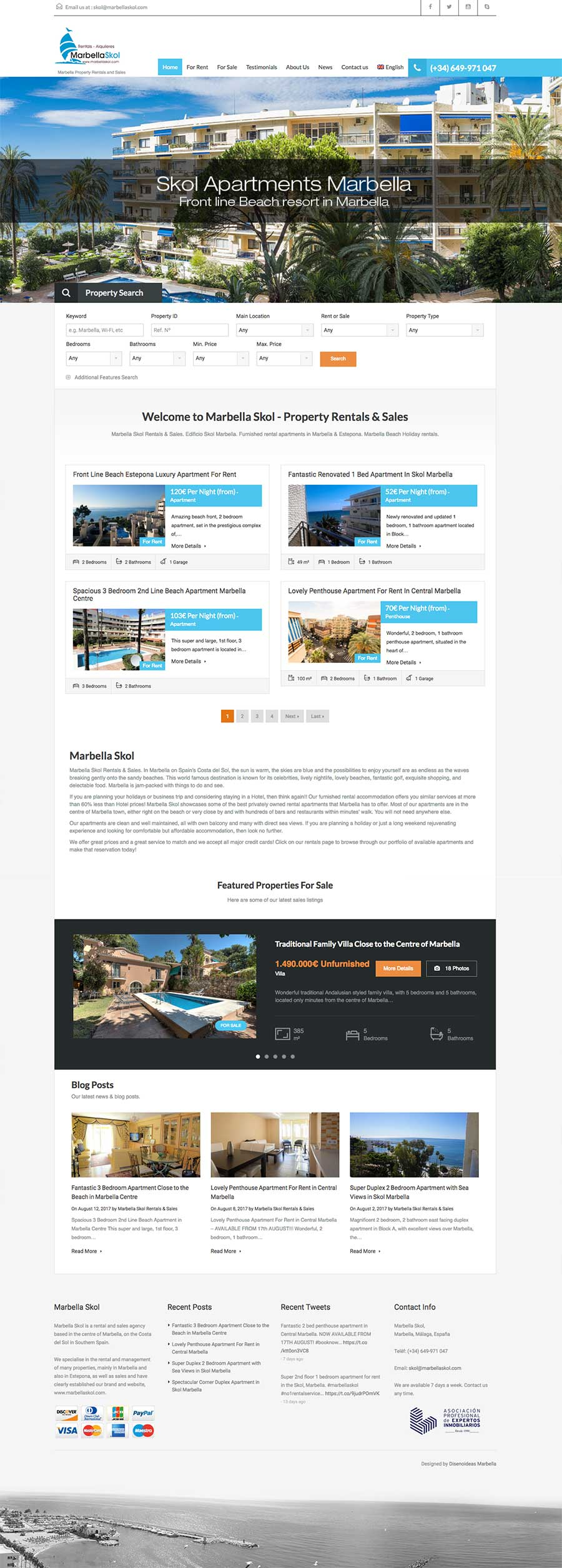 Real Estate Web Design marbella-skol-rentals-website-designers-marbella