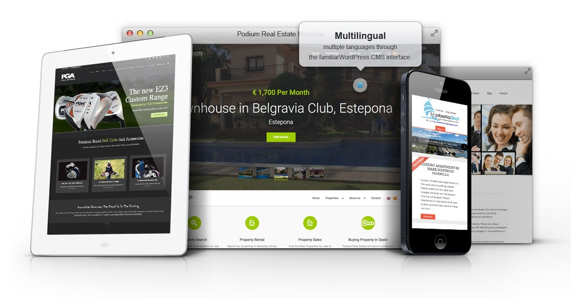 Responsive-website-design-mobile-website Disenoideas Marbella