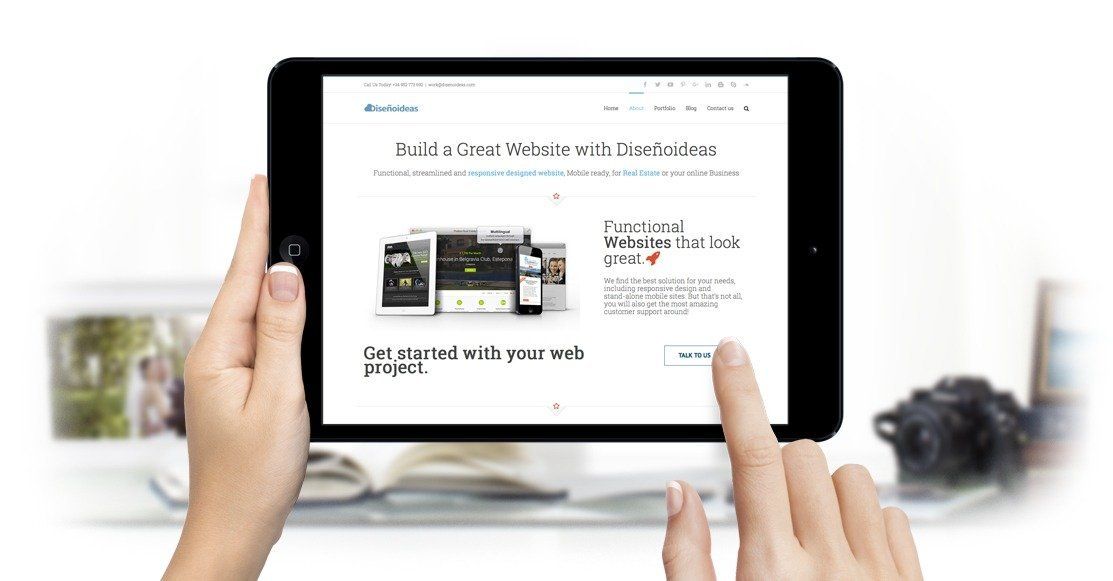 disenoideas website and app designers malaga social media marketing marbella