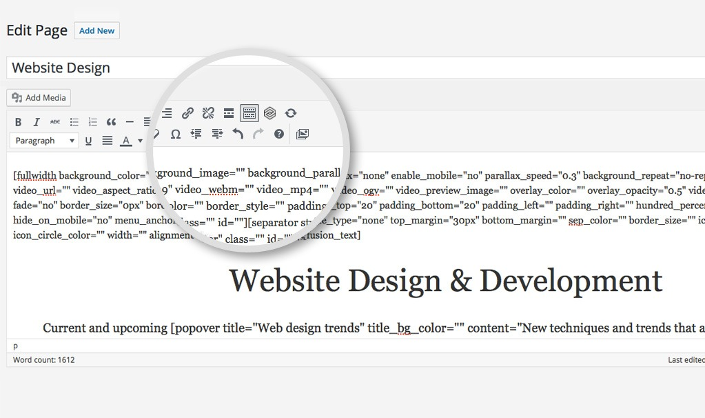 Mobile ready website designs, responsive text and images