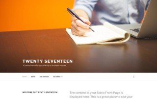 wordpress-theme-2017-twenty-seventeen