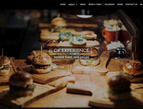 GK GrillKebab – WordPress Web & APP design