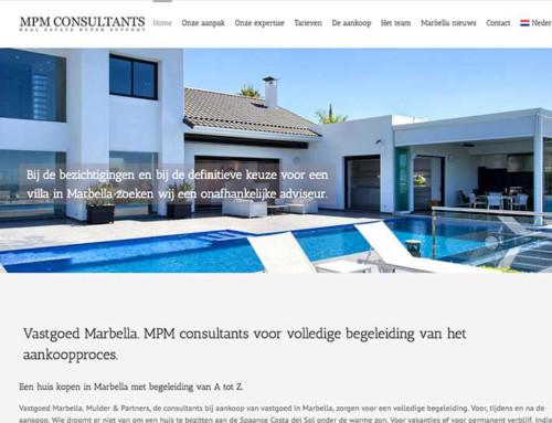 MPM Consultants Real Estate Web Design