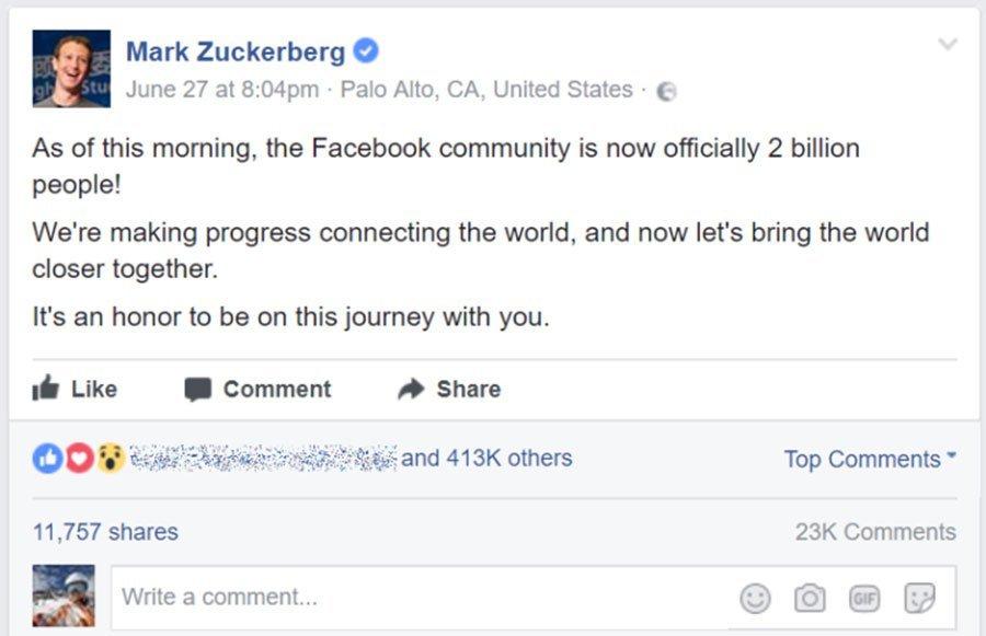 zuckerberg-post-2-billion-facebook-monthly-active-users