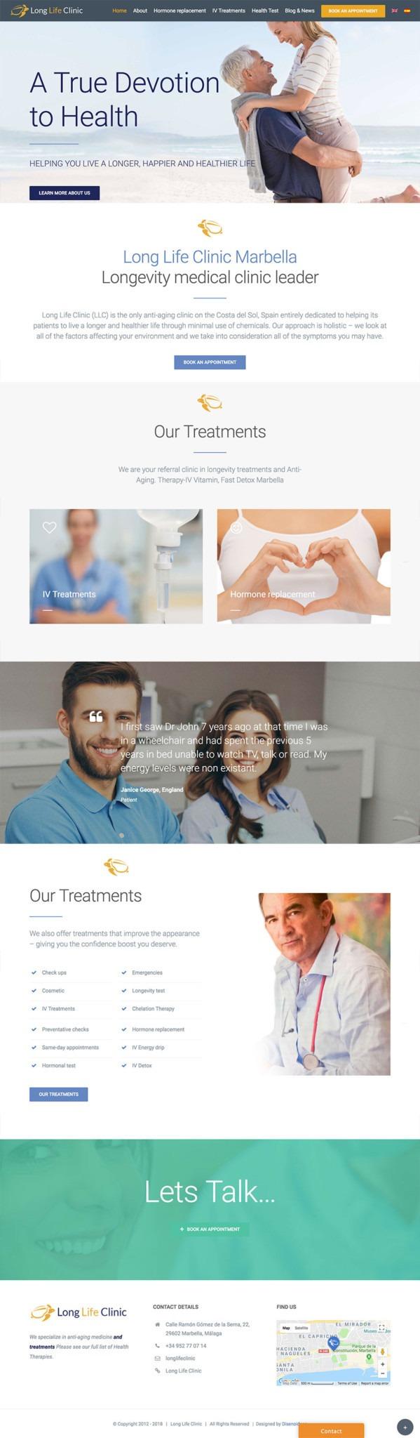 long-life-clinic-marbella-IV-Detox-clinic-website-design-wordpress-marbella