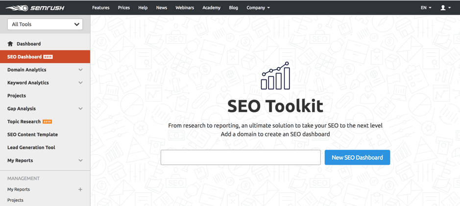SEO tools to optimize your Social Media Marketing Strategy