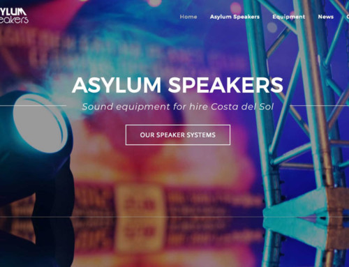 Asylum Speakers WordPress Website Design Marbella