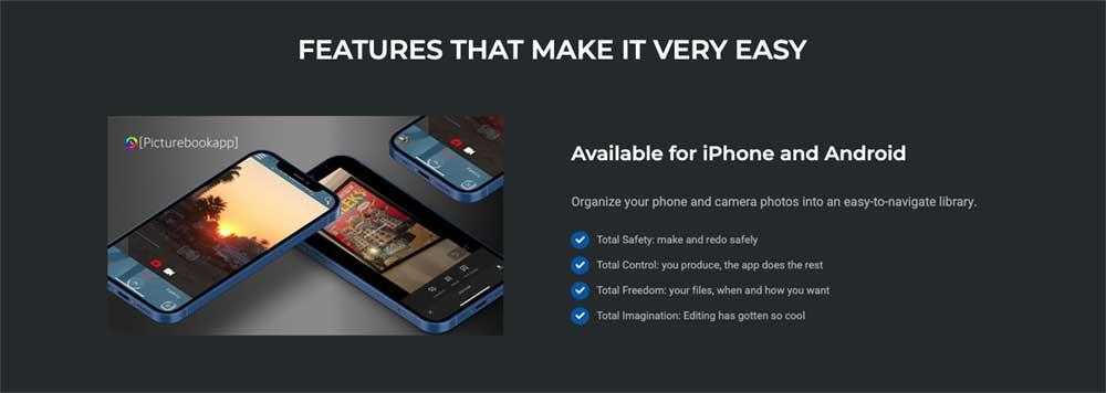 picturebookapp friendly technology wordpress website design marbella disenoideas