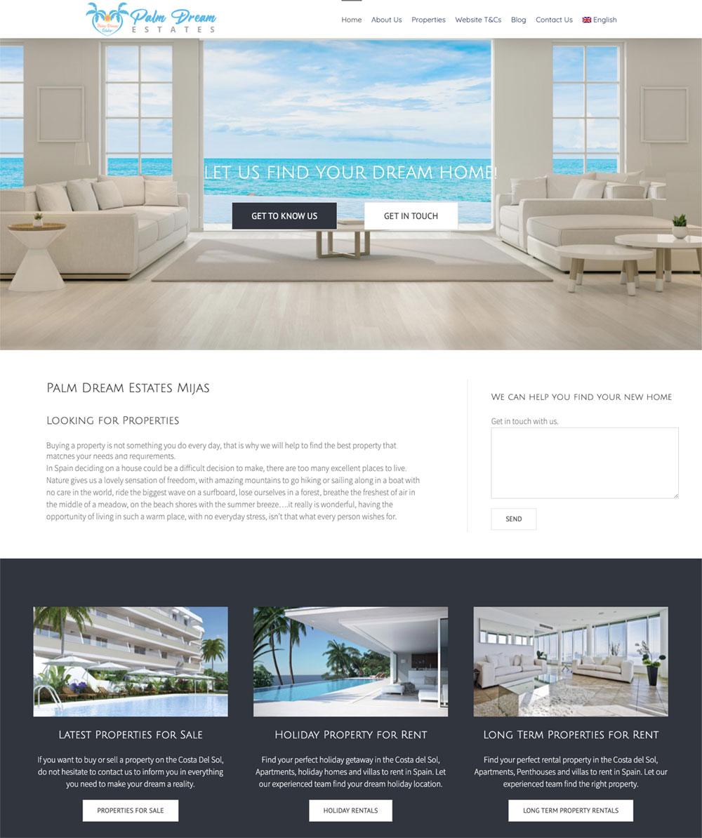 marbella website design wordpress real estate website design resales online plugin