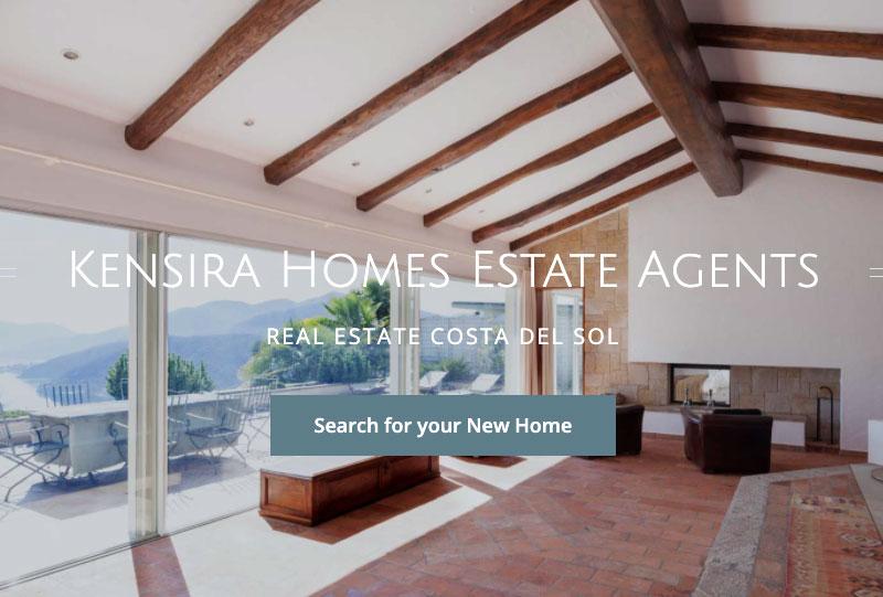 kensira homes new developments costa del sol wordpress real estate website marbella resales online plugin
