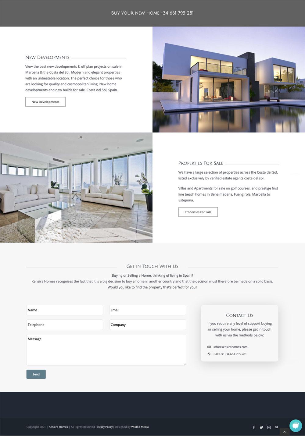 Kensira homes the best new developments costa del sol kensira homes Danish estate agents
